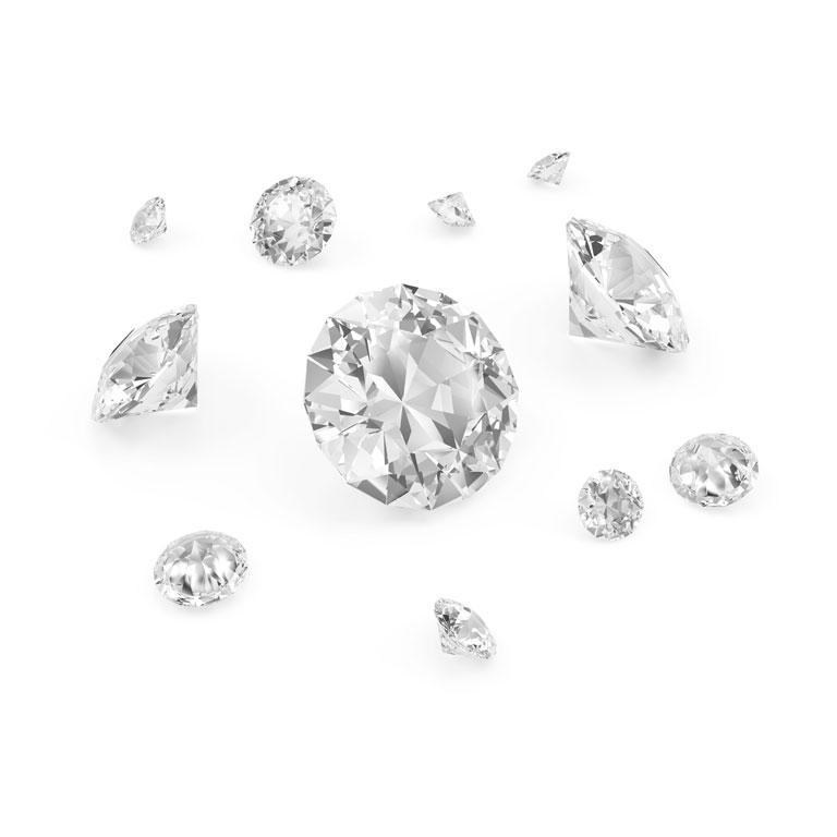 Ostamme timantteja